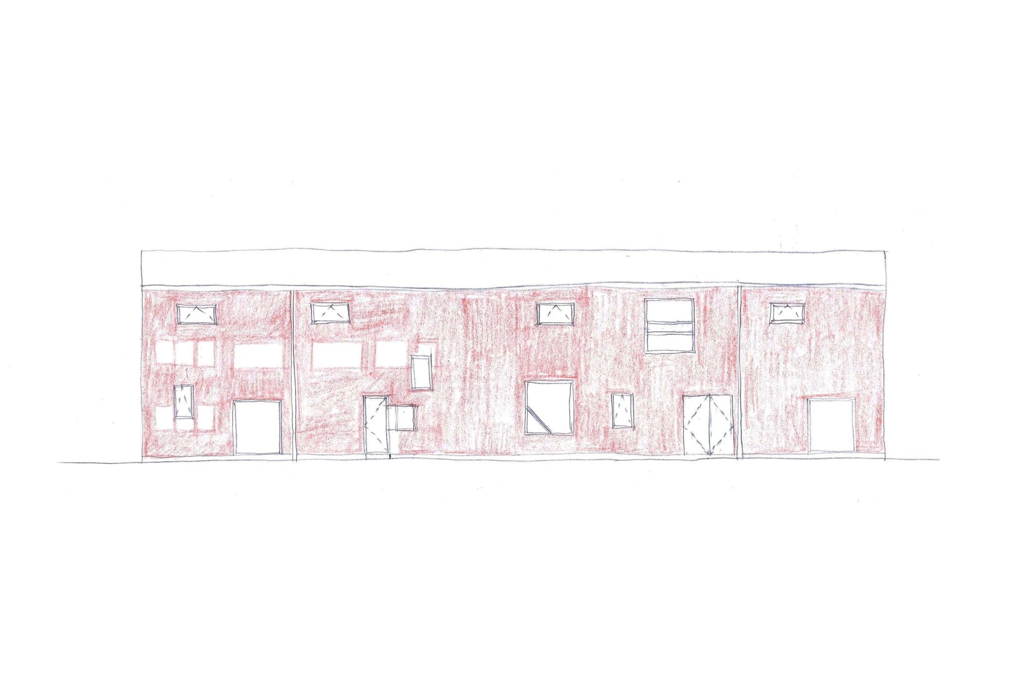 Leicester print workshop sketch 1