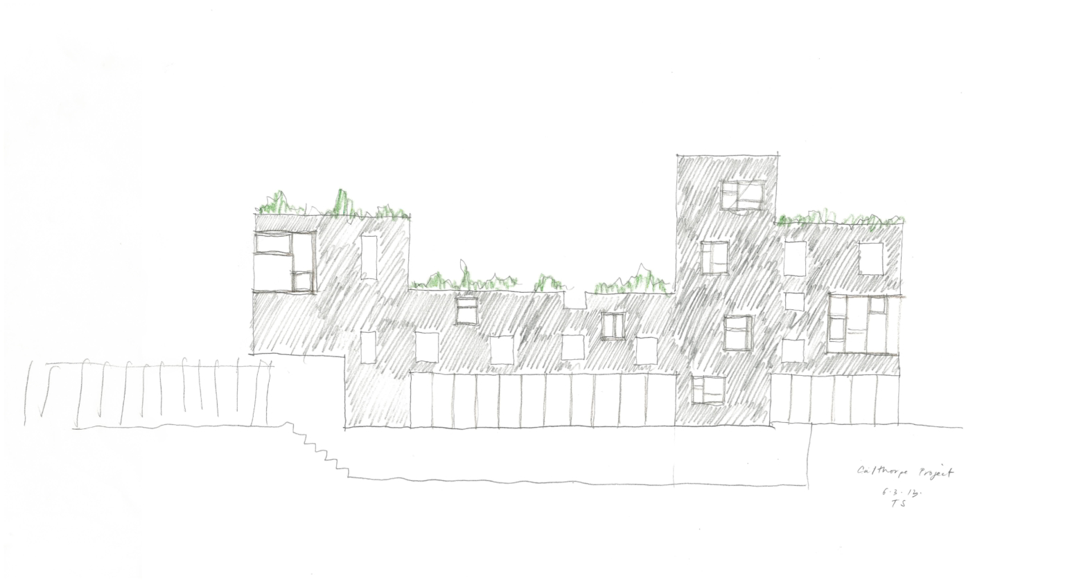 The Calthorpe Project sketch 1
