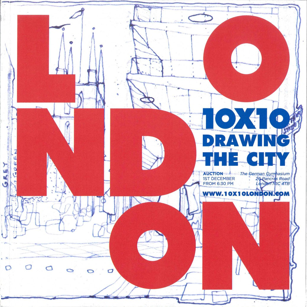 10-10 Drawing the city Cover