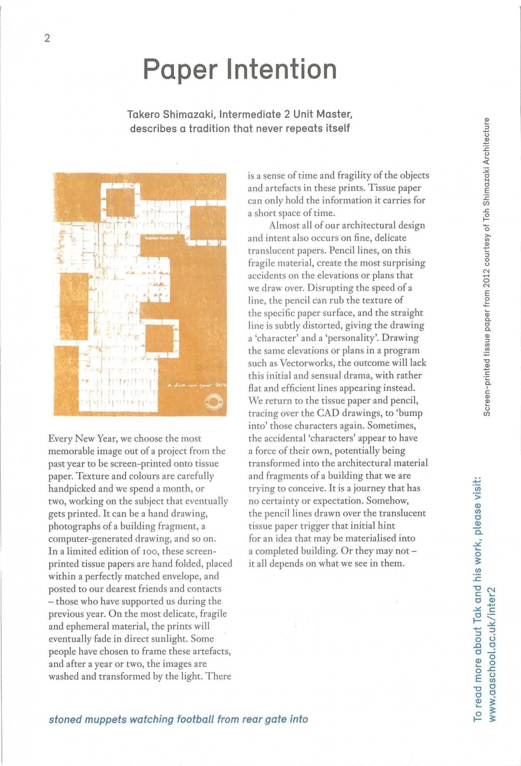AArchitecture 21_Paper Intention_1