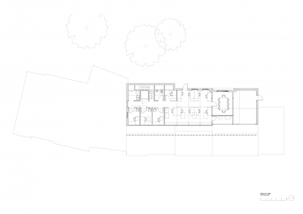 Centre For Sight first floor plan