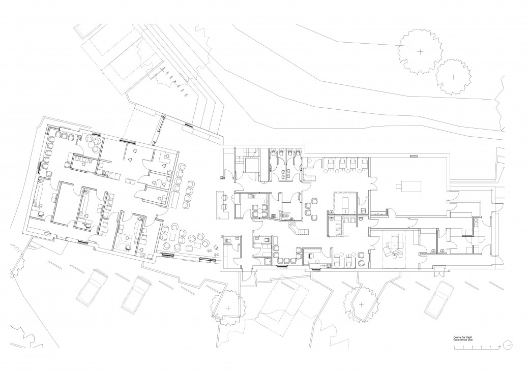 Centre For Sight ground floor plan