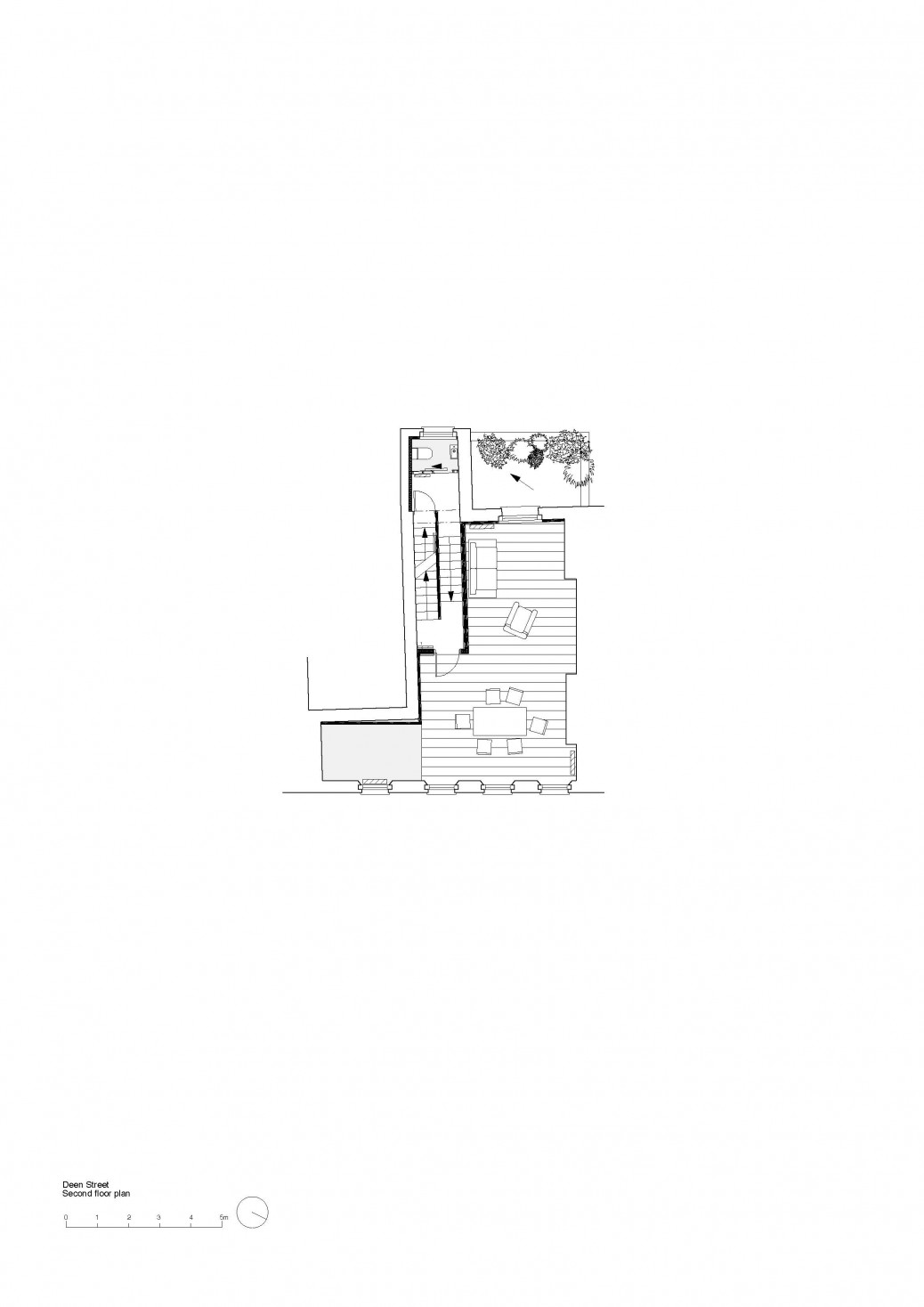 Dean Street second floor plan