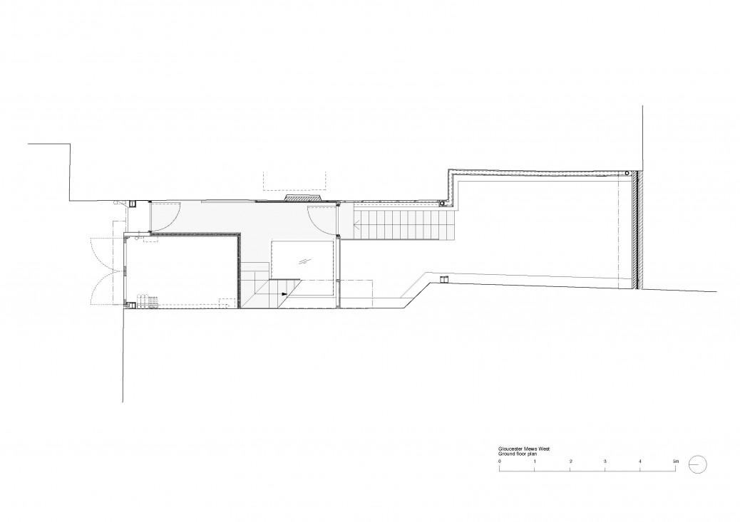 Gloucester Mews West ground floor plan