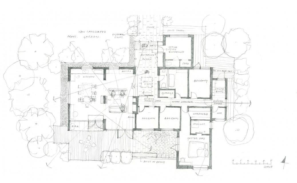 High Bois Lane sketch 3