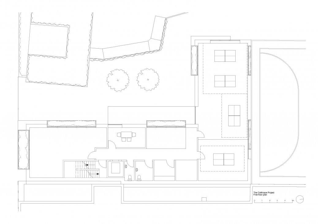 The Calthorpe first floor plan
