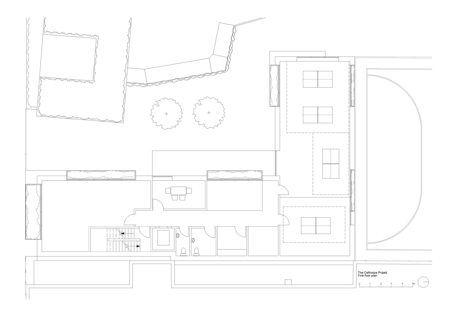 The Calthorpe first floor plan