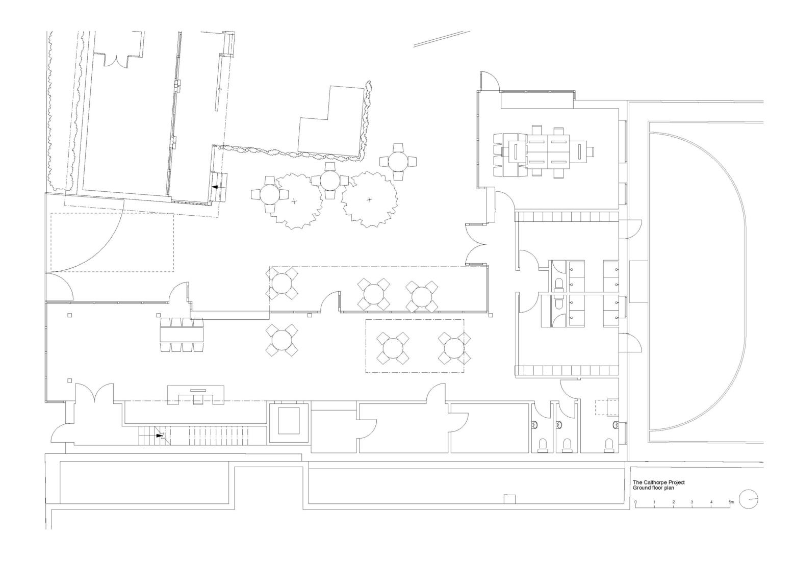 The Calthorpe ground floor plan