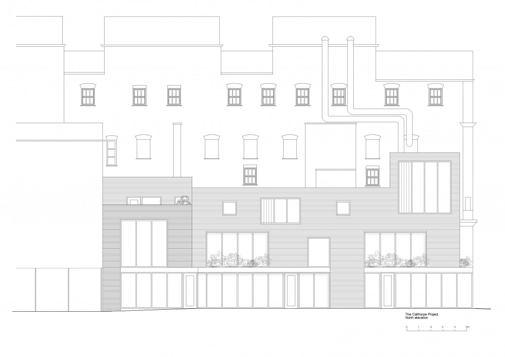 The Calthorpe north elevation