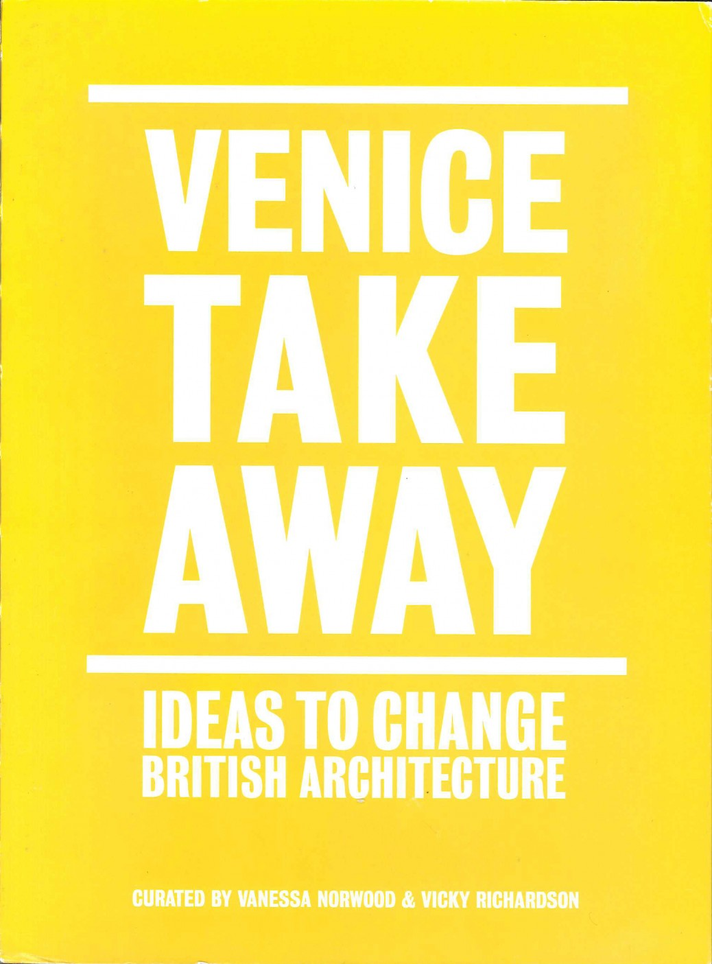 Venice Takeaway cover
