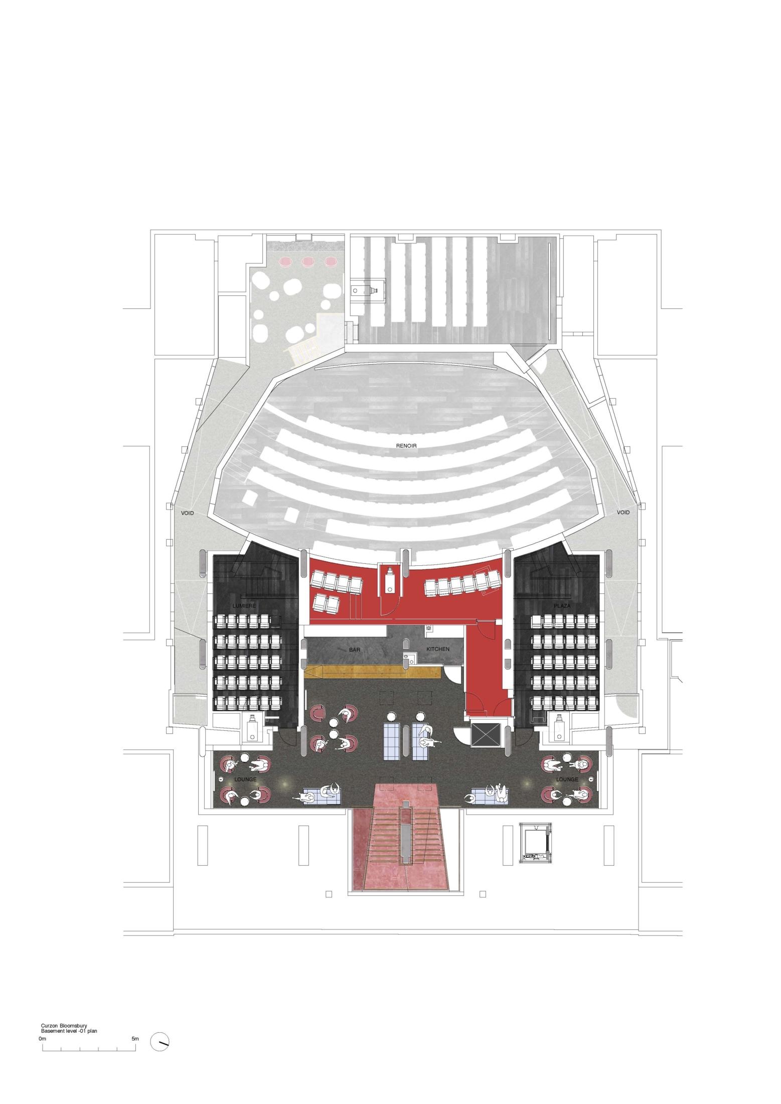 Curzon Bloomsbury_basement level -01 plan