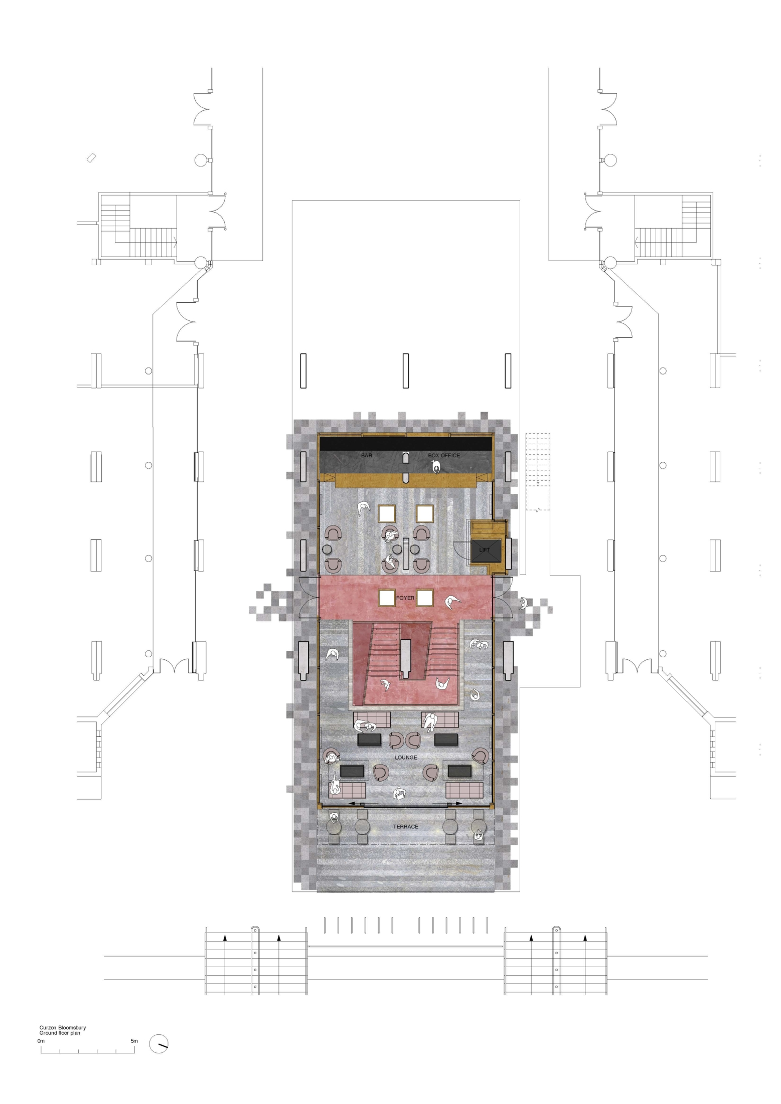 Curzon Bloomsbury_ground floor plan