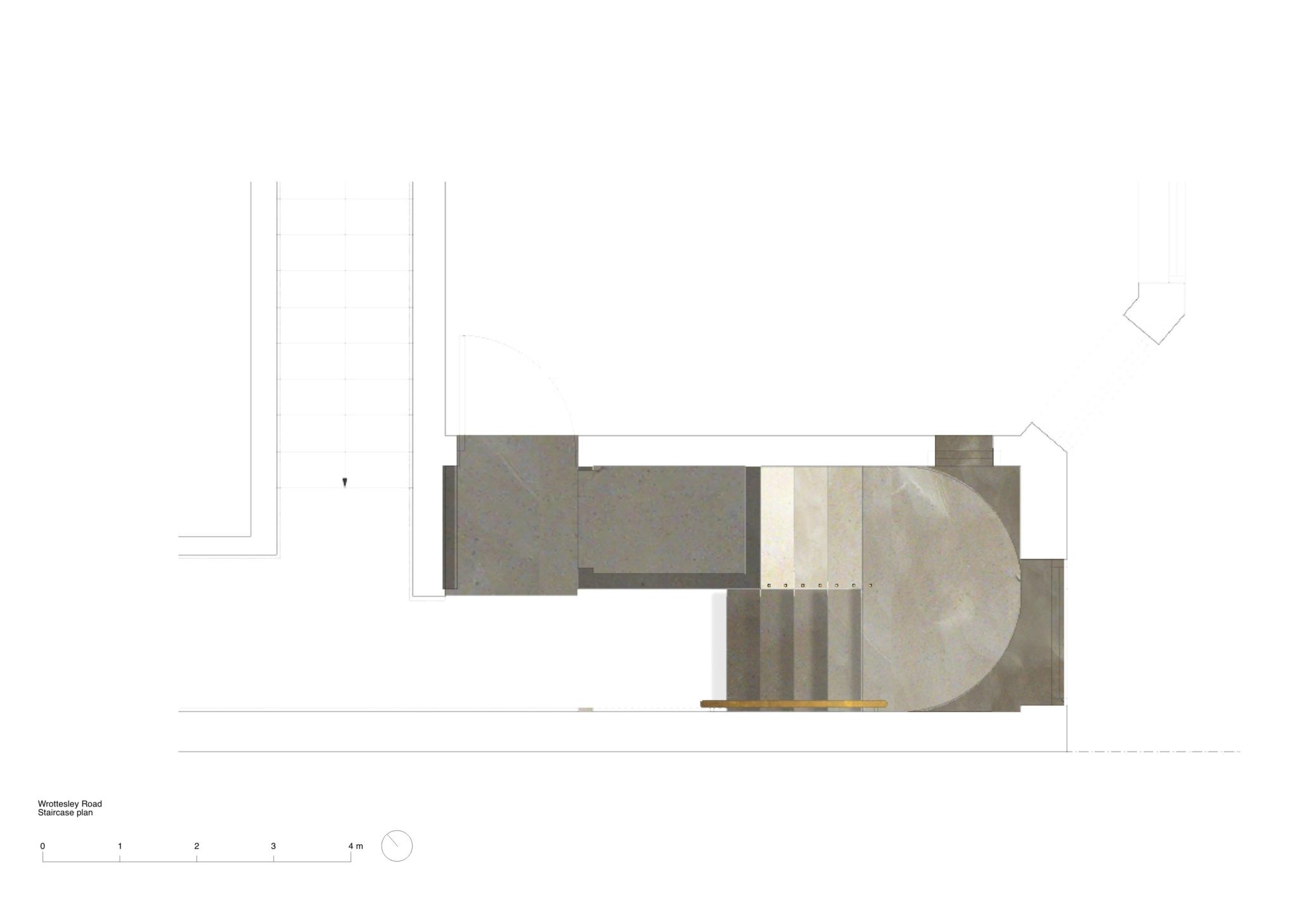 Wrottesley Road colour plan