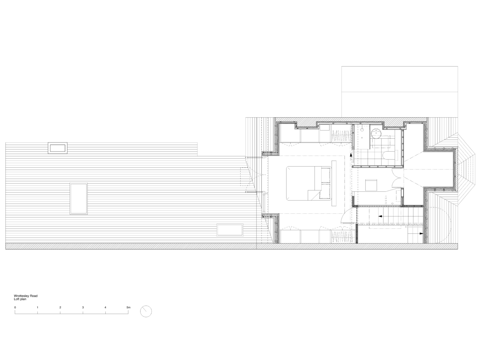 Wrottesley Road loft plan