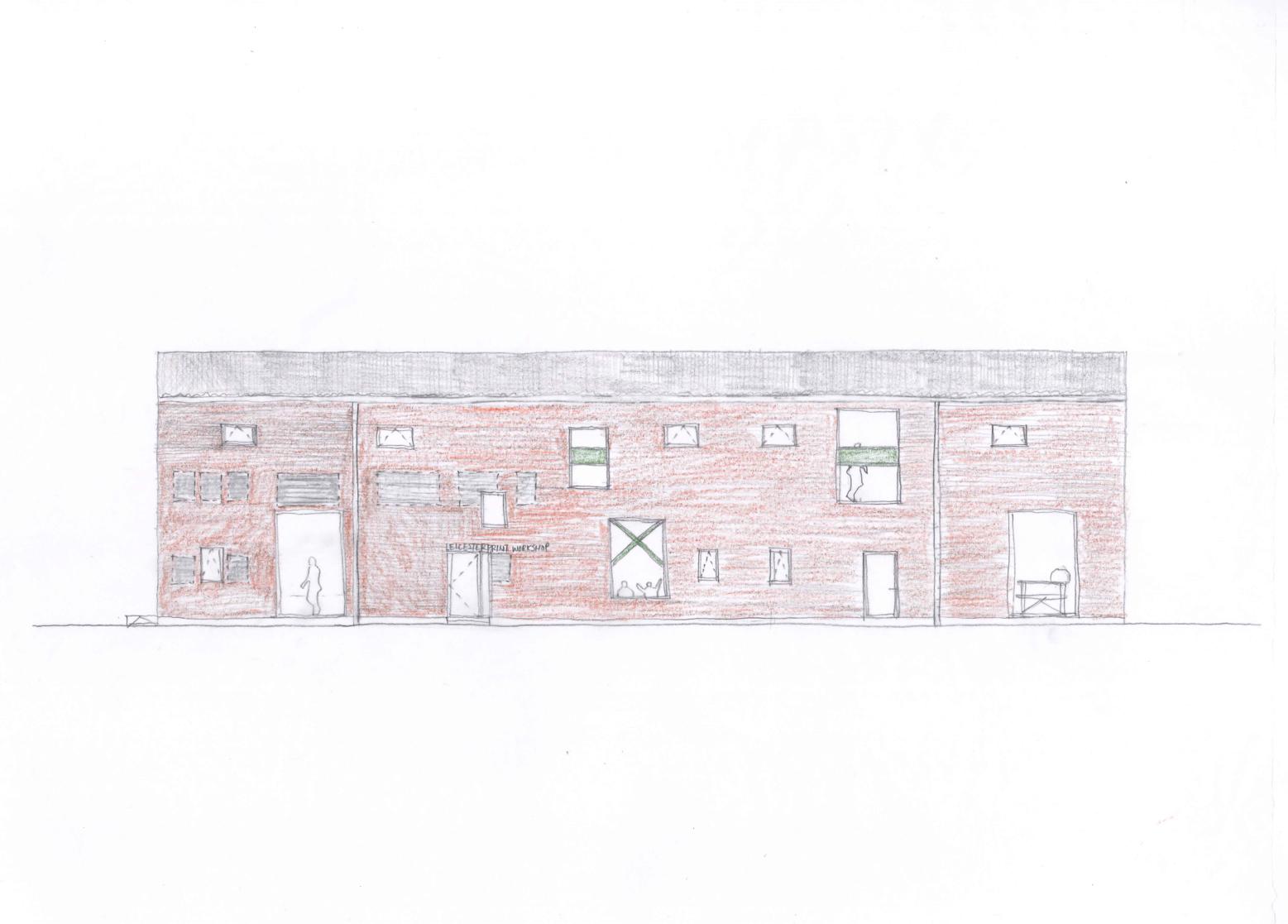 Leicester Print Workshop_sketch 1