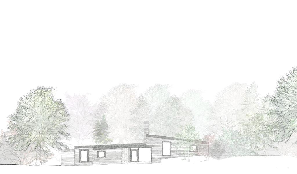 High Bois Lane sketch 1