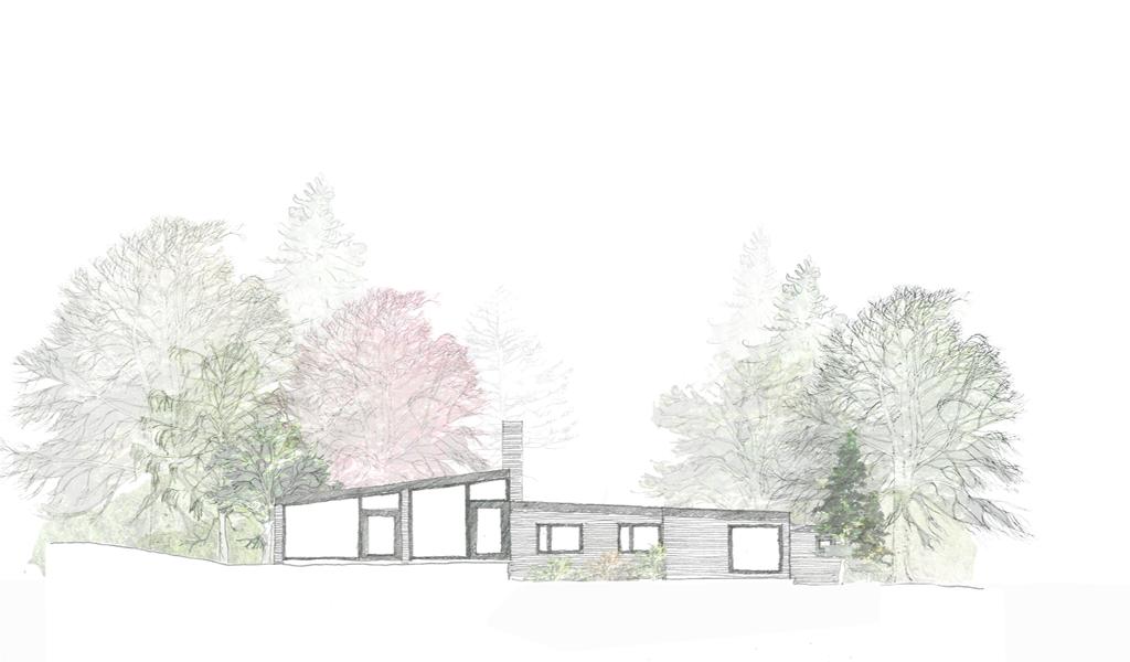 High Bois Lane sketch 2