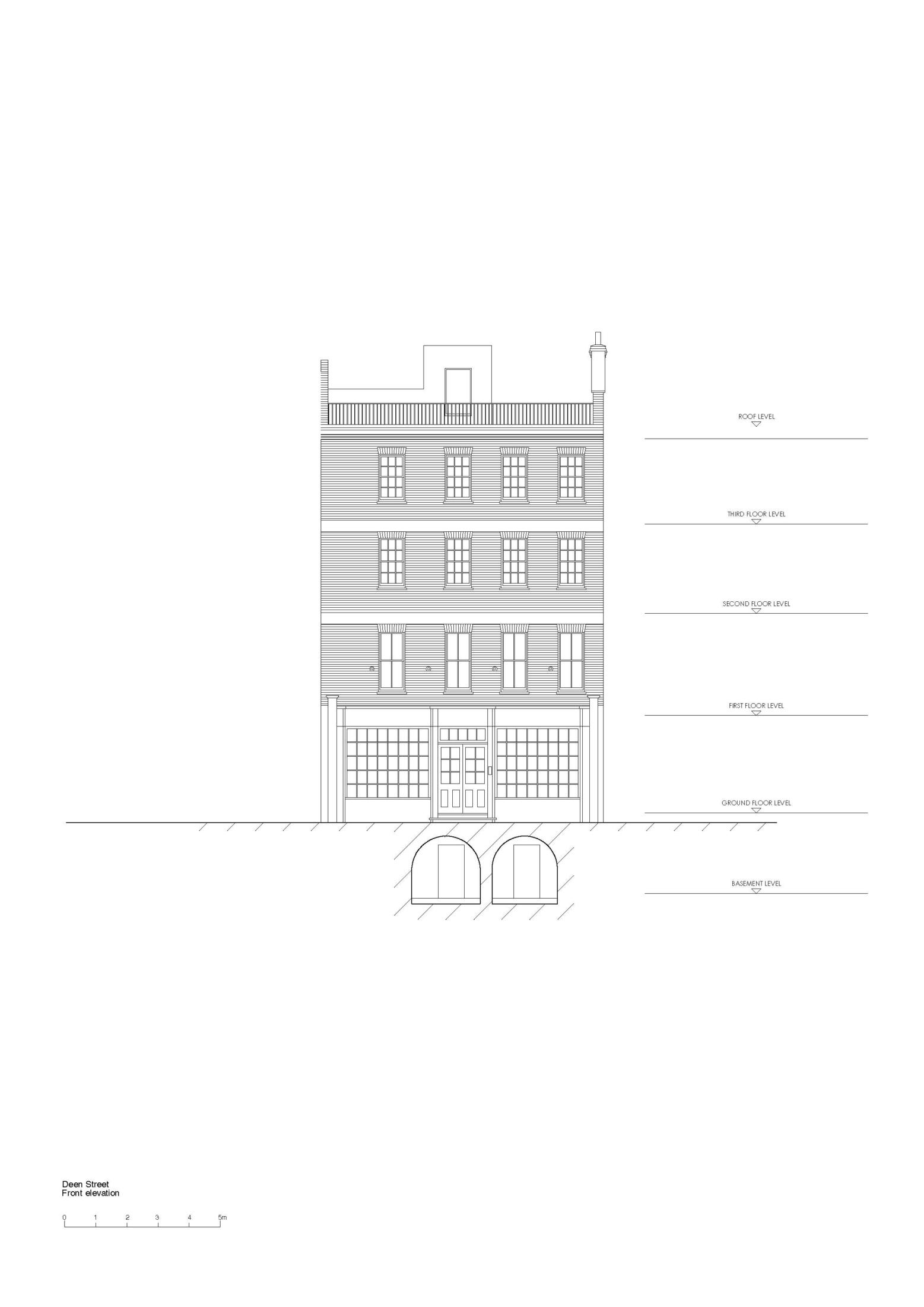 Dean Street elevation