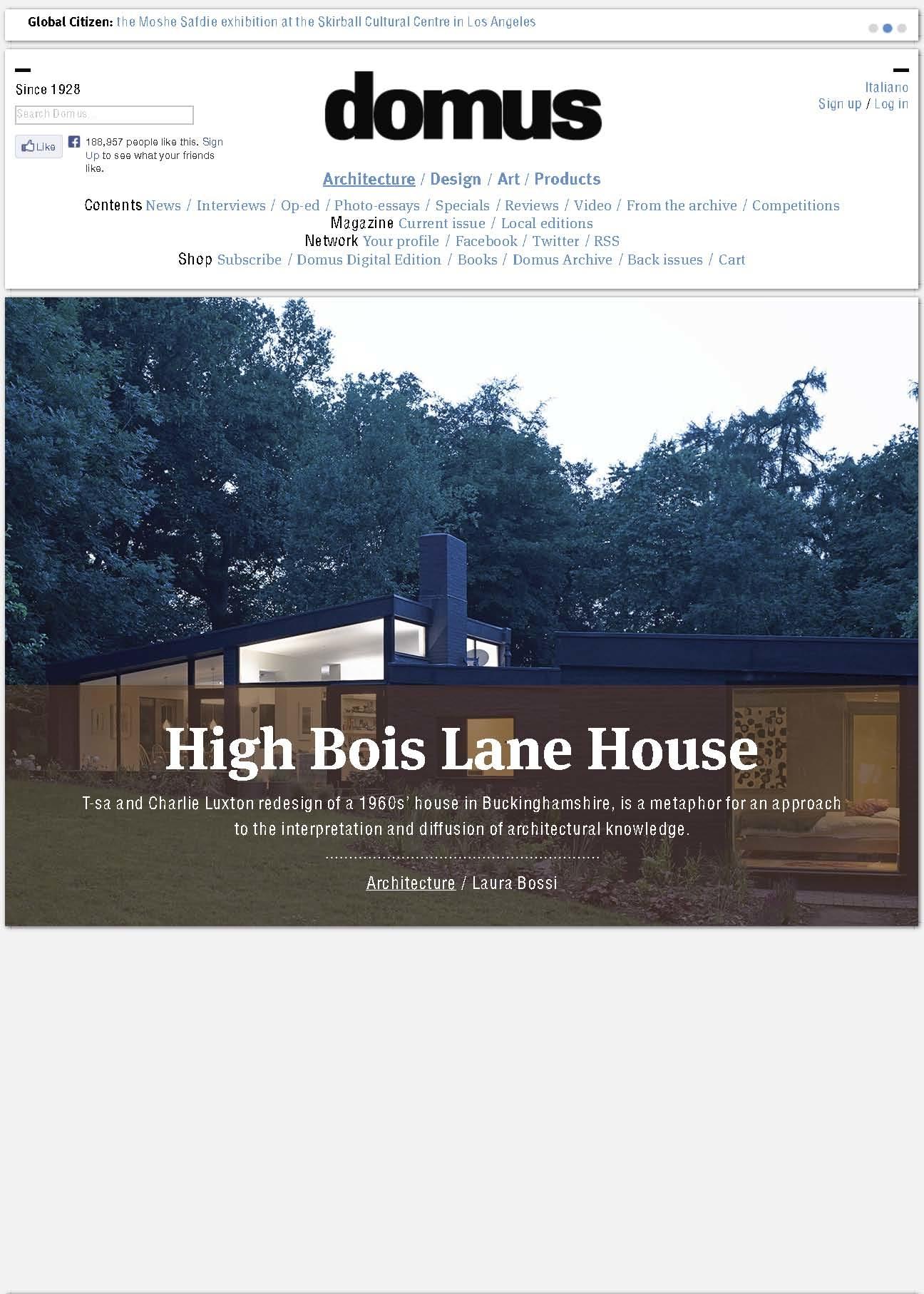 Domus_High Bois Lane1_1